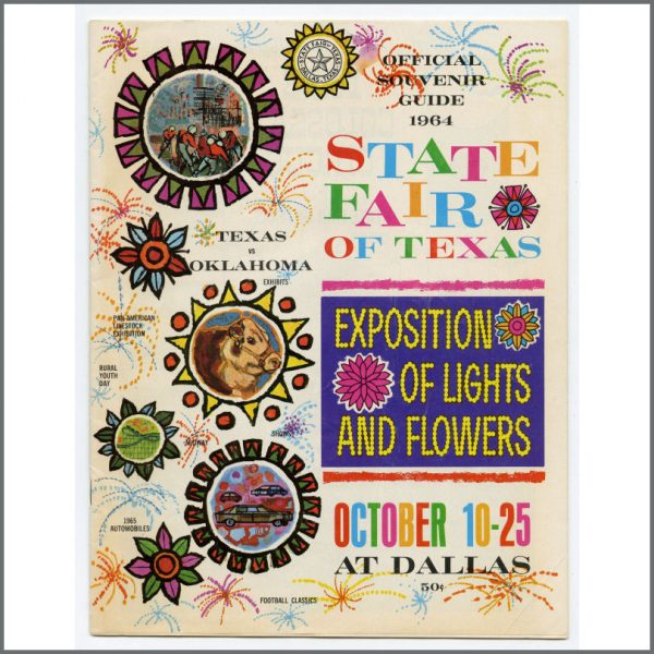 B27461 - The Beatles 1964 State Fair Of Texas Souvenir Programme (USA)