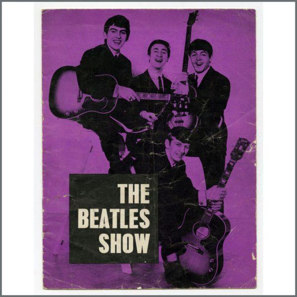 B27466 - The Beatles 1963 Llandudno Odeon Concert Programme (UK)