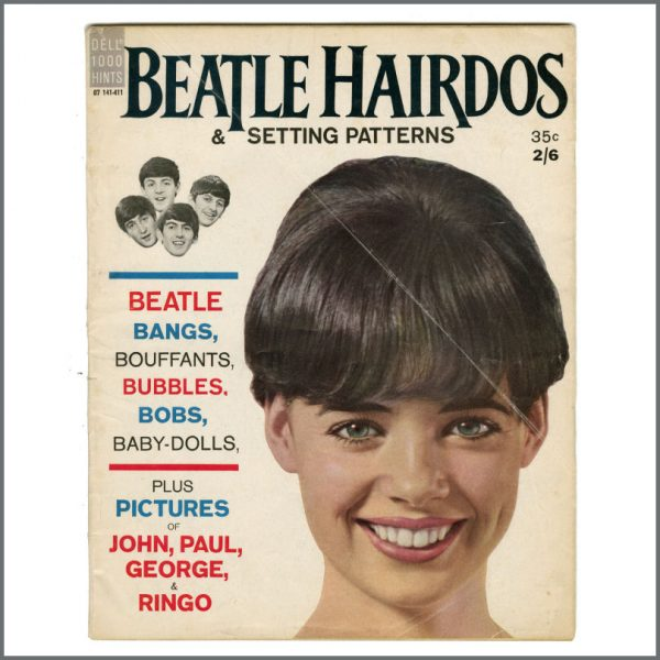 B27491 - The Beatles 1964 Beatle Hairdos Magazine (USA)