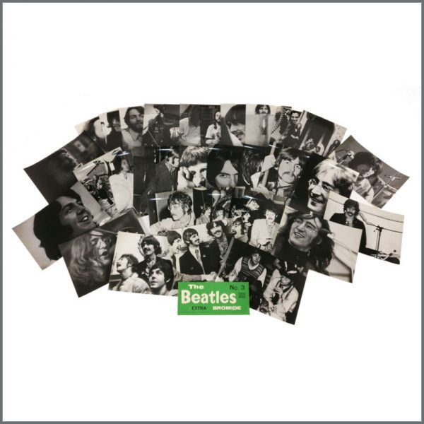 B27499 - The Beatles Monthly Extra 1980 Bromide Prints (UK)