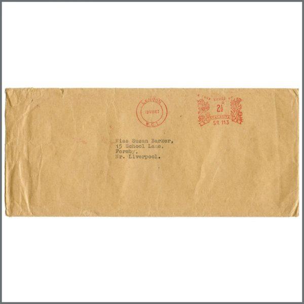 B27504 – The Beatles 1963 Fan Club Letters & Envelope (UK) 5