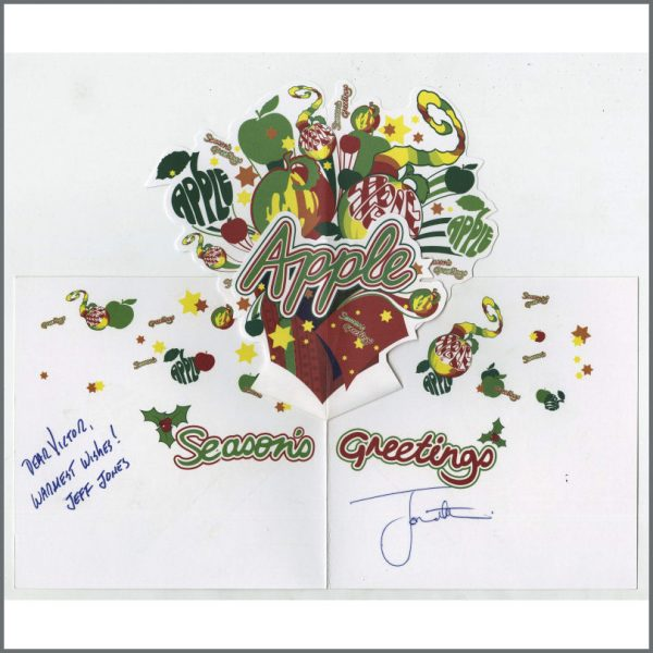 B27517 – The Beatles Apple Records 2008 Christmas Card To Victor Spinetti (UK) 2