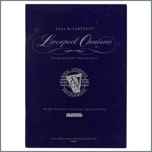 B27540 - Paul McCartney 1991 Liverpool Oratorio Premiere Programme (UK)
