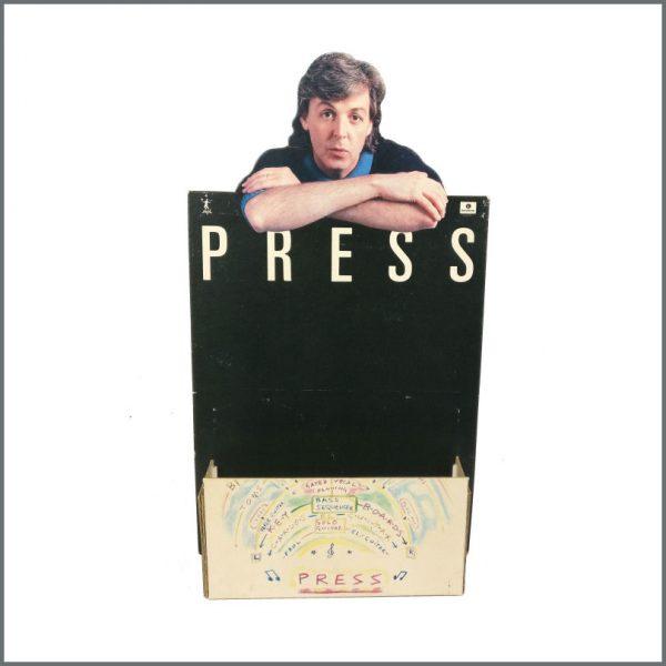 B27552 - Paul McCartney 1986 Press Promotional Shop Display (UK)