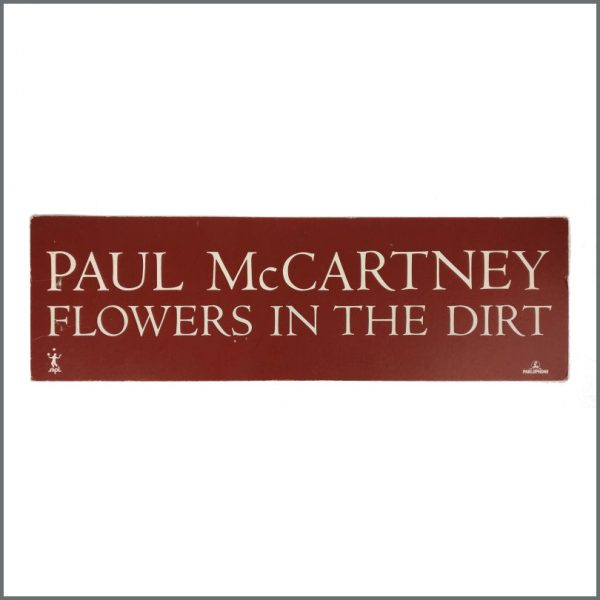 B27553 - Paul McCartney 1989 Flowers In The Dirt Promotional Shop Display (UK)