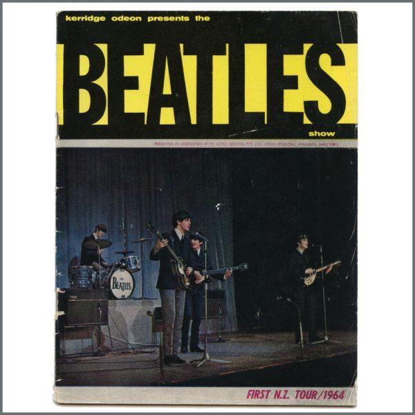 B27569 - The Beatles 1964 New Zealand Tour Programme (New Zealand)