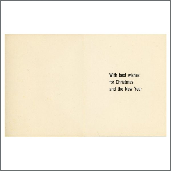 B27590 – The Beatles John Lennon Designed Oxfam 1960s Christmas Card (UK) 2