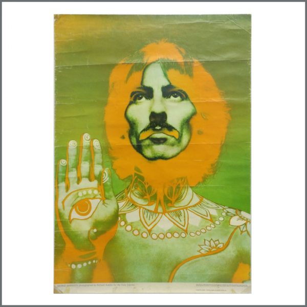 B27607 – The Beatles 1968 Complete Set Of Five Richard Avedon Psychedelic Posters (UK) 5