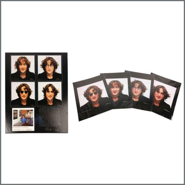 B27614 - John Lennon 1990 Bob Gruen Walls & Bridges Photograph Box Set (USA)