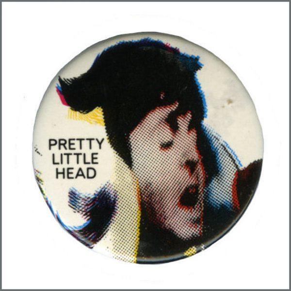 B27621 - Paul McCartney 1986 Pretty Little Head Promotional Pin Badge (UK)