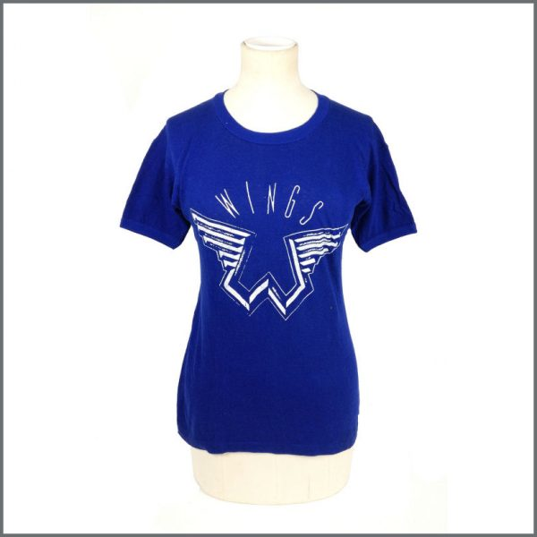 B27631 - Paul McCartney & Wings 1970s Promotional T-Shirt (UK)