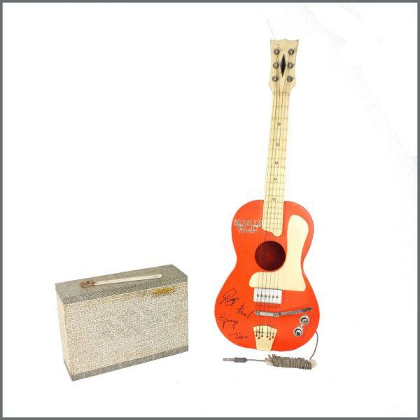 B27638 - The Beatles 1963 Selcol Red Jet Electric Guitar & Granada 4 Amplifier (UK)