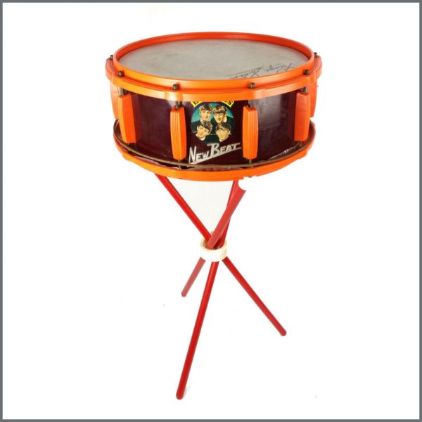 B27639 - The Beatles 1964 Selcol New Beat Ringo Starr Drum (UK)
