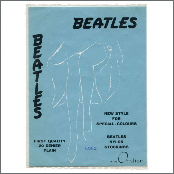 B27656 - The Beatles 1960s Ortalion Stockings Packaging Cards (Italy)