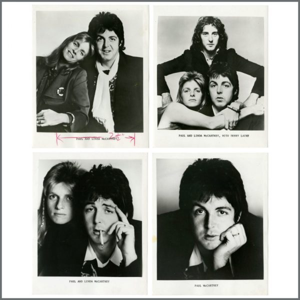 B27660 - Paul McCartney & Wings 1973 Promotional Photographs (UK)