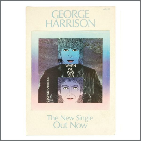 B27671 - George Harrison 1988 When We Was Fab Promotional Shop Display (UK)