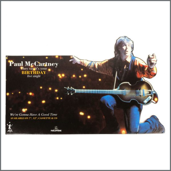 B27673 - Paul McCartney 1990 Birthday Promotional Shop Display (UK)