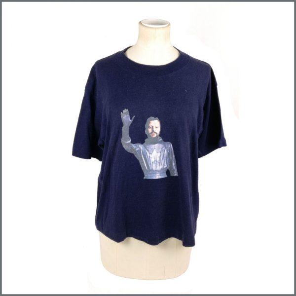 B27677 - Ringo Starr 1974 Goodnight Vienna Promotional T-Shirt
