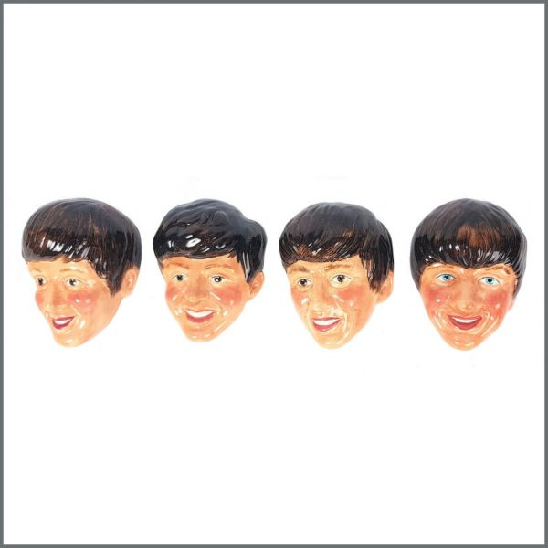 B27704 - The Beatles 1964 Set Of Four Kelsbro Ware Wall Plaques (UK)