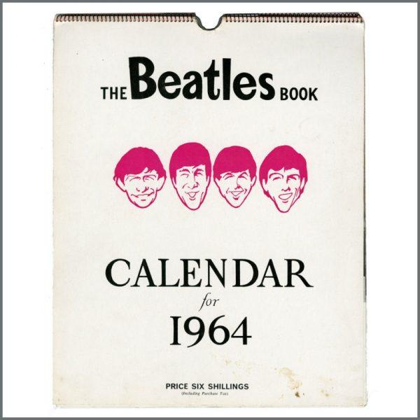 B27712 - The Beatles 1964 Beatles Book Calendar (UK)