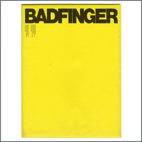 B27717 – Badfinger 1973 Warner Brothers Records Promotional Press Kit (USA) 2