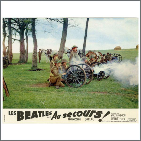 B27718 – The Beatles 1965 Help! Lobby Cards (France) 2
