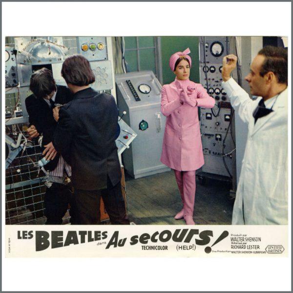 B27718 – The Beatles 1965 Help! Lobby Cards (France) 3
