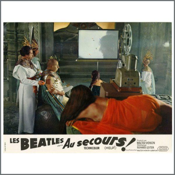 B27718 – The Beatles 1965 Help! Lobby Cards (France) 4