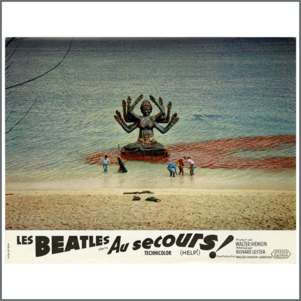 B27718 – The Beatles 1965 Help! Lobby Cards (France) 6