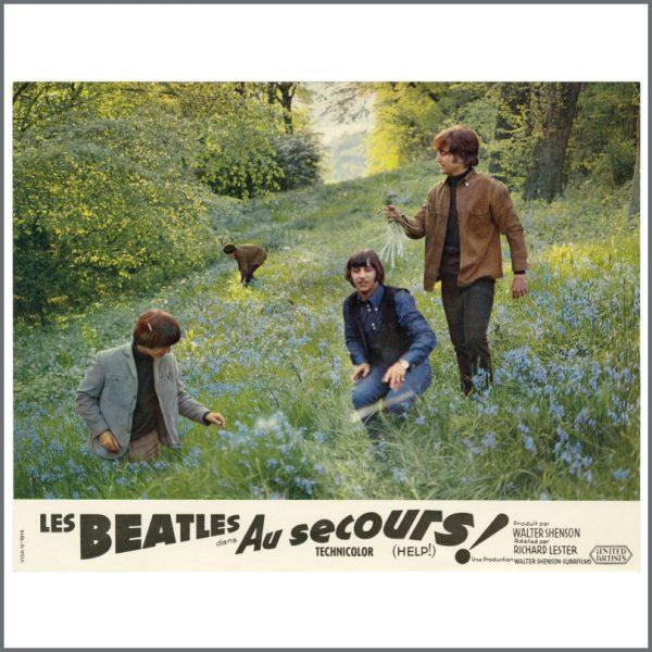 B27718 – The Beatles 1965 Help! Lobby Cards (France) 9