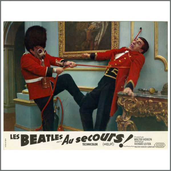 B27718 – The Beatles 1965 Help! Lobby Cards (France) 12