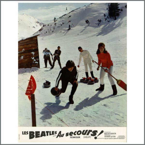 B27718 – The Beatles 1965 Help! Lobby Cards (France) 13