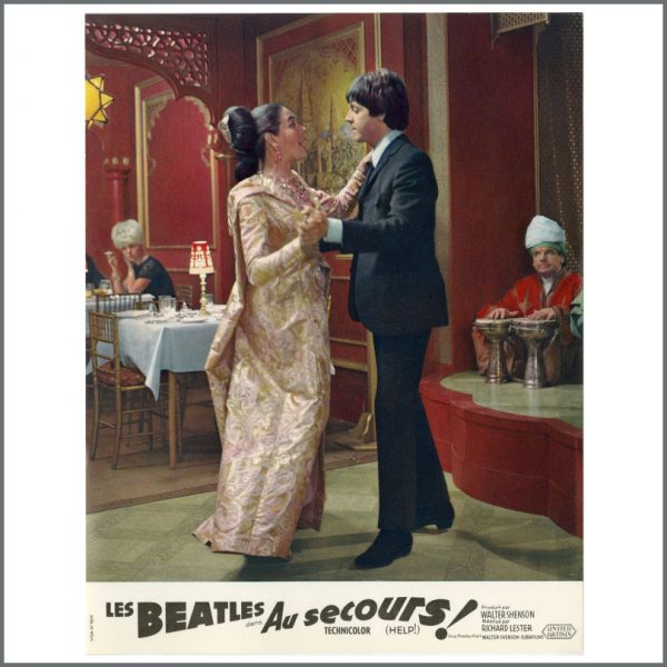 B27718 – The Beatles 1965 Help! Lobby Cards (France) 14