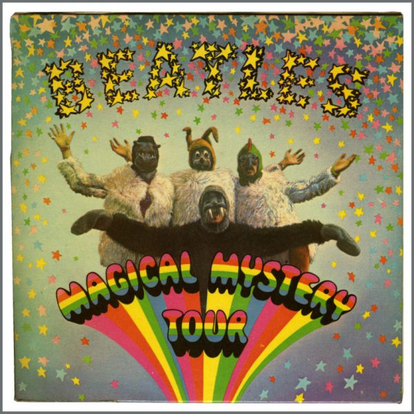 B27730 - The Beatles 1967 Magical Mystery Tour Mono Double EP MMT-1 (UK)
