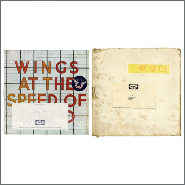 B27737 - Paul McCartney & Wings 1976 Wings At The Speed Of Sound LP (UK)