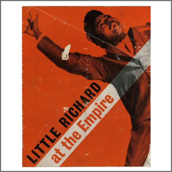 B27767 - The Beatles/Little Richard 1962 Liverpool Empire Concert Programme (UK)