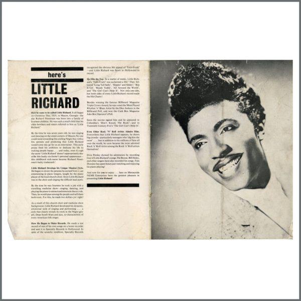 B27767 – The Beatles/Little Richard 1962 Liverpool Empire Concert Programme (UK) 4