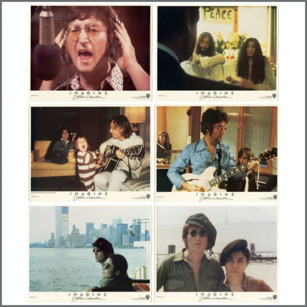 B27780 – John Lennon 1972 Imagine Warner Bros Lobby Cards (USA) 1