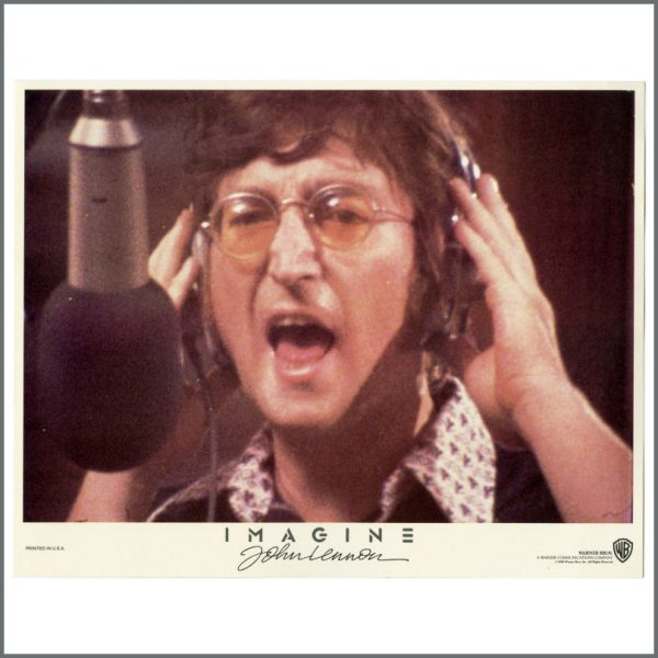 B27780 – John Lennon 1972 Imagine Warner Bros Lobby Cards (USA) 2