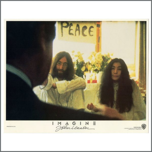 B27780 – John Lennon 1972 Imagine Warner Bros Lobby Cards (USA) 3