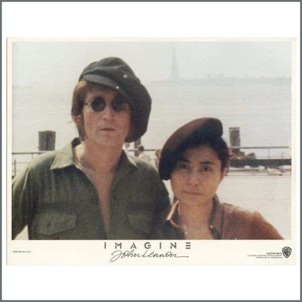 B27780 – John Lennon 1972 Imagine Warner Bros Lobby Cards (USA) 7