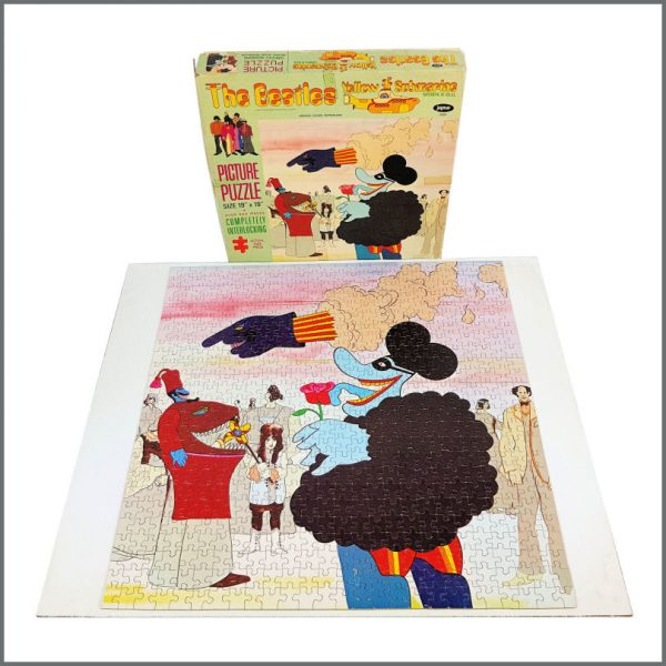 B27829 - The Beatles 1968 Yellow Submarine Jaymar Jigsaw Puzzle (USA)