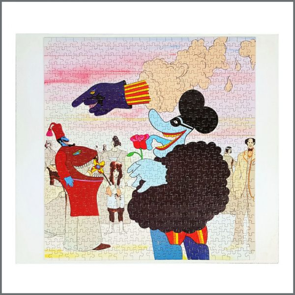 B27829 – The Beatles 1968 Yellow Submarine Jaymar Jigsaw Puzzle (USA) 2
