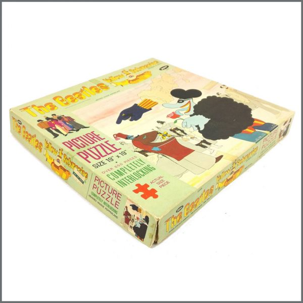 B27829 – The Beatles 1968 Yellow Submarine Jaymar Jigsaw Puzzle (USA) 4
