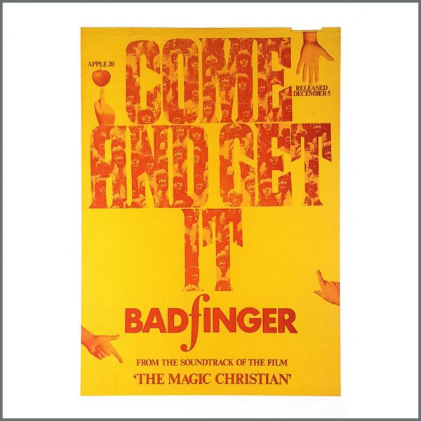 B27836 - Paul McCartney 1969 Badfinger Come And Get It Magic Christian Promotional Poster (UK)