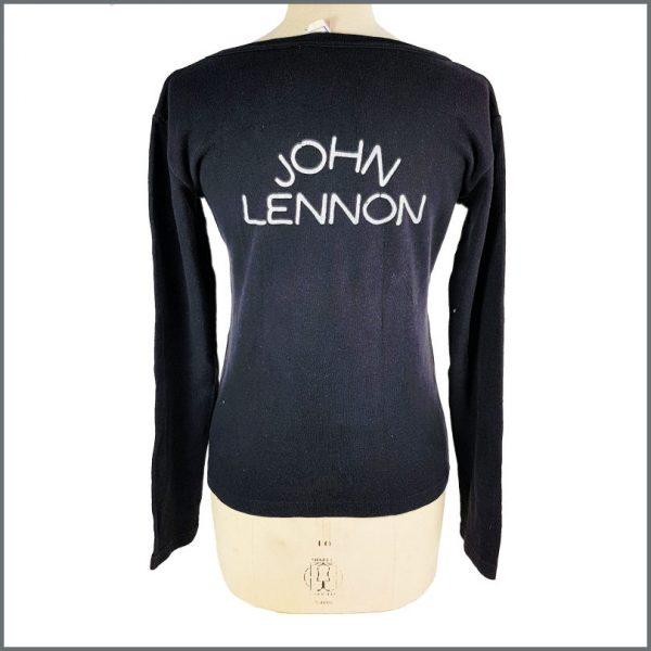 B27839 – John Lennon 1975 Rock 'N' Roll Long Sleeved Top (UK) 2