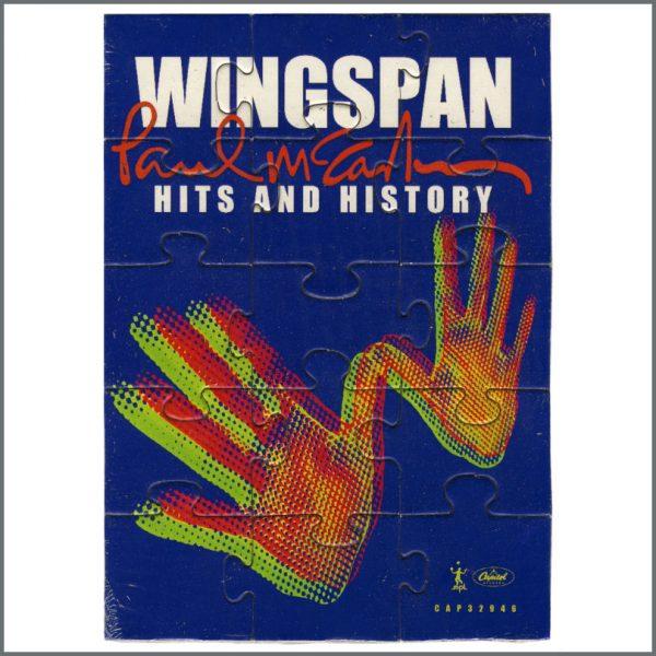 B27867 - Paul McCartney 2001 Wingspan: Hits & History Promotional Jigsaw Puzzle (UK)