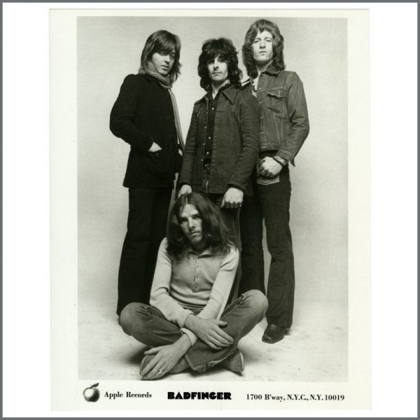 B27894 - Badfinger 1970s Apple Records Promotional Photograph (USA)