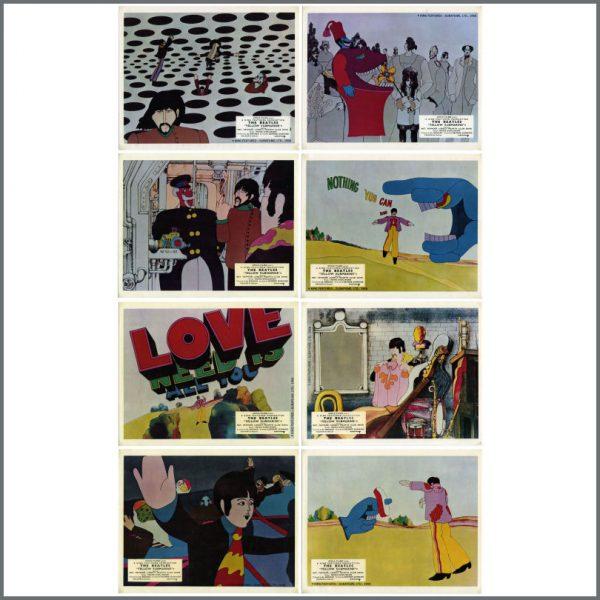 B27897 - The Beatles 1968 Yellow Submarine Lobby Cards