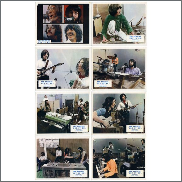 B27898 - The Beatles 1970 Let It Be Lobby Cards Set (UK)